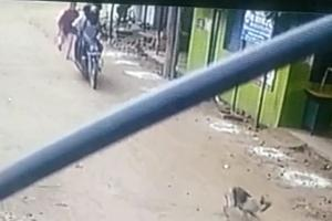 CCTV footage of woman chasing robbers in Chennai goes viral