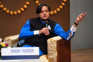 BJP Yuva Morcha vandalise Tharoors office tells him to go to Pakistan