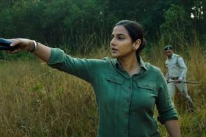 Sherni review Vidya Balan anchors this tragic hunt for a tigress