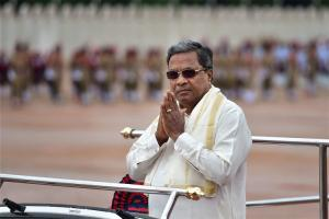 Developed south is subsidising populated north CM Siddaramaiah writes