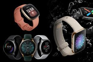 Fitbit Versa 3 to OPPO Watch Eight smartwatches under Rs 20K