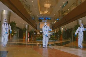 Aarogya Setu app mandatory regulated entry What malls in Bengaluru are planning