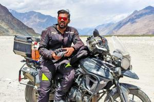 YouTube is booming its a viable full-time profession Hyd moto vlogger Sriman Kotaru