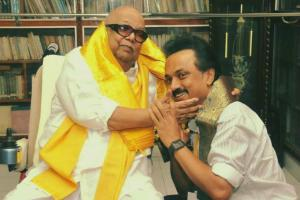 On Karunanidhis birthday CM Stalin announces hospital library and award for writers