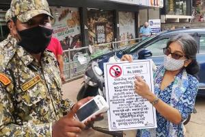 How Bengaluru-based activist Odette Katrak is campaigning to stop public spitting