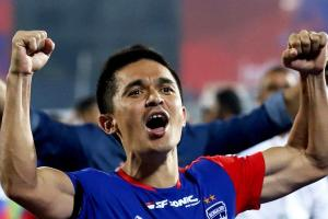 For Namma Bengaluru Sunil Chhetri launches Bengaluru FC campaign to help small businesses