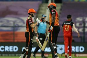 Sunrisers end RCBs IPL 2020 campaign with 6-wicket win