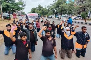 12 days after strike began Swiggy continues talks with delivery execs in Hyderabad