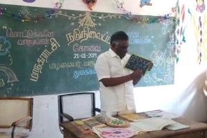 Watch Kovai MLA turns teacher for a day opts to teach school kids amid strike