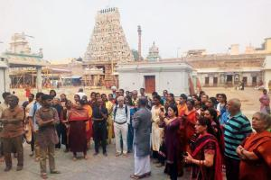 Of dance and deities The history of North Chennais Thiruvottiyur Thyagaraja temple