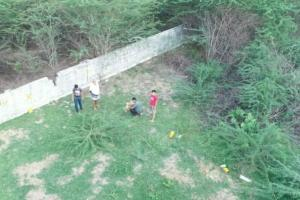 Tirupati police use drones to crack down on people drinking in open places