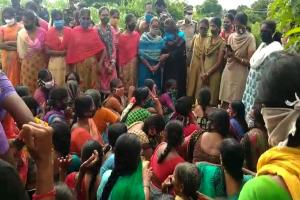 Tension in Andhra village after protests by those displaced by the Gandikota project