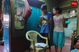 Searching for a mobile signal in Uttara Kannada with schooling shifting to WhatsApp