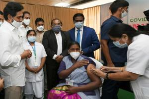 COVID-19 vaccination drive Andhra achieves 61 of its first-day target