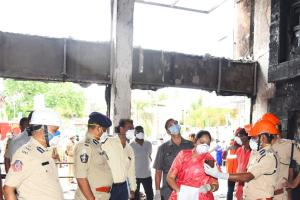 Vijayawada COVID Care Centre fire Hotel had no clearance or safety measures
