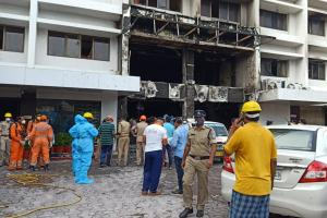 Smoke filled the room within minutes Vijayawada fire survivors recall tragedy
