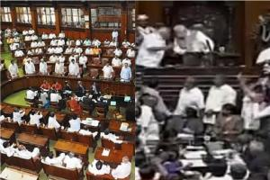 Ruckus in Karnataka Assembly as budget session kicks off Governor walks out
