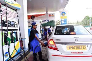 Petrol price crosses Rs 100 in parts of Andhra Pradesh and Telangana