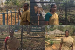 Growling with tigers laughing with hyenas Meet the women caretakers of TN zoo
