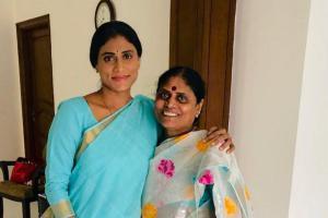 YS Sharmila launches YSR Telangana Party Vijayamma attends event Jagan gives it a miss