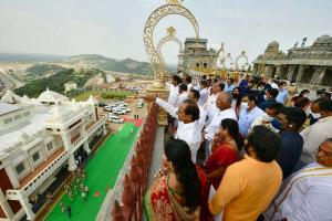 Renovated Yadadri temple in Telangana to be thrown open from March 28 2022
