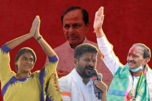 Defections early campaigns new faces Telangana parties prepare for 2023 polls