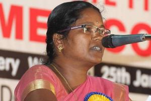Dalit activist Amminis sister and nephew attacked allegedly by RSS workers