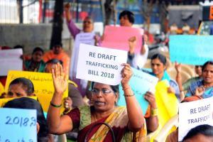 Redraft Trafficking Bill Activists trans persons tweet against legislation