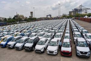 Passenger vehicle sales in Sept decline 41 annually due to chip shortage SIAM