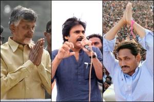 Self goal by Jagan U-turns by CBN Advantage Pawan Kalyan in Andhra