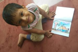 Six-yr-old Kerala boy draws curious observations of life around him in lockdown diary