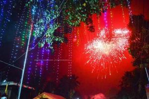 Cosmopolitan Bengaluru heralds New Year in grand style