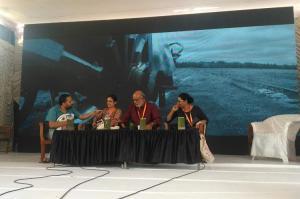 Rise of intolerance is a well-planned agenda Sashikumar Kavitha Lankesh speak at KLF