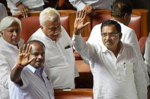 After CM Kumaraswamy offers to quit JDS Gen Secy says no dispute at leadership level