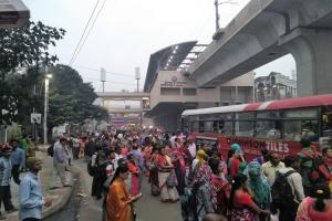 Is Lakdi-ka-pul one of Hyderabads busiest areas pedestrian-friendly