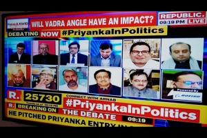 Whopping 86 of panellists on news channels are men finds study