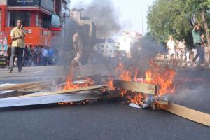 Sabarimala row 1 killed in stone-pelting 2 CPIM workers in custody