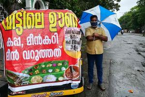 Selling vegetables to biriyani Many in Kerala turn to street vending after lay-offs