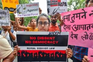 No right to dissent Indias democratic space is declining