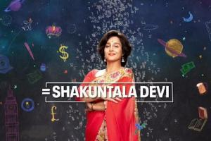 Digital release date of Vidya Balans Shakuntala Devi announced