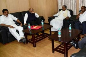 Ahead of budget session Ktaka Congress issues whip to party MLAs