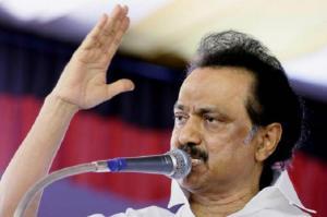 Rajinikanths spiritual politics not good for the country says Stalin