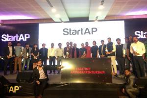Andhra organizes StartAP awards Swiggy gets startup of year 3 T-Hub firms win awards