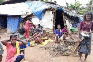 Leaking roofs makeshift tents A proper home still a dream for tribal people in Wayanad