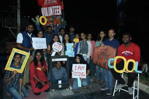 Hyd-based NGO organises stand-up comedy slam poetry to raise awareness on voting
