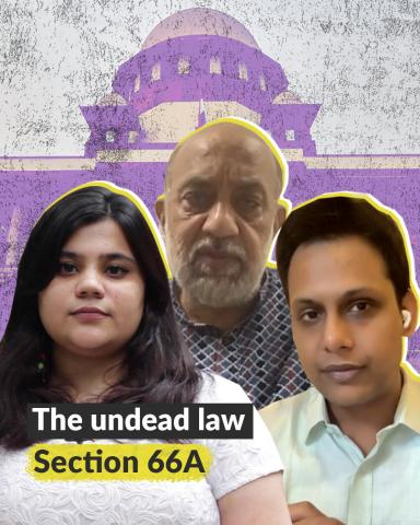 The undead law — Section 66A