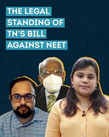 Explained: Tamil Nadu's new Bill against NEET and its legal standing
