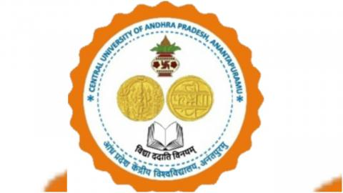 Andhra Pradesh Central University logo