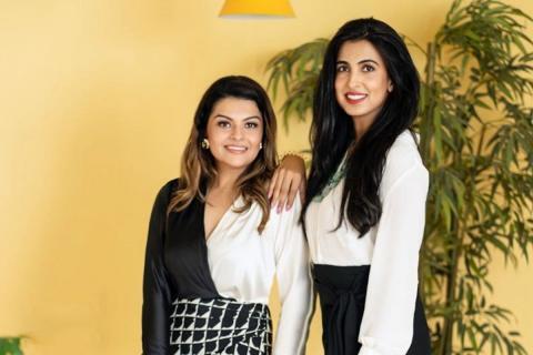 Darshana Balagopal and Shweta Gupta, founders of Aardae