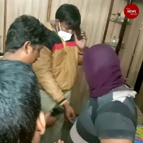 Amateur robber falls asleep during burglary in Andhra, arrested